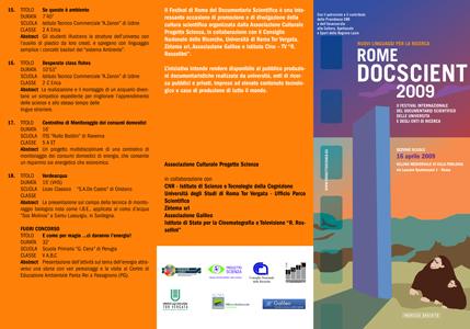 catalogo scuole 2009